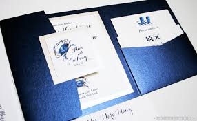 blue wedding invitations blue white wedding invitations chesapeake bay blue crab wedding