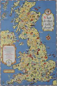 Map Of Britain The Festival Of Britain Maps Football Guidebooks Science And