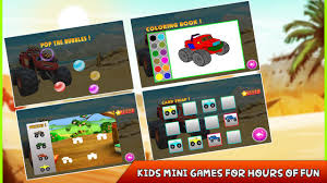 monster truck video games for kids monster truck racers offroad driver android apps on google play