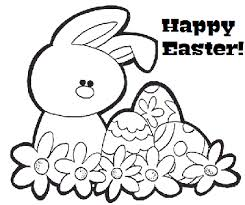 teaching english easter colouring worksheets