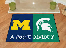 michigan state house divided area rug 34