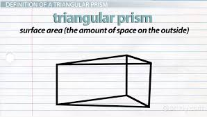 what is a triangular prism definition formula u0026 examples