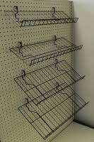 Peg Board Shelves by Pegboard Wire Shelves Peg Hooks