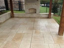 Stamped Concrete Patio Maintenance Proper Maintenance For Stained Concrete Patios