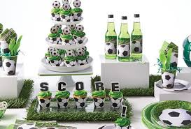 soccer party supplies buy soccer party supplies online at build a birthday nz