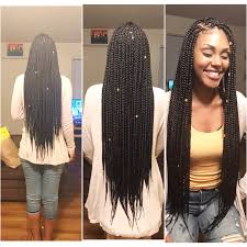 medium box braids with human hair long medium box braids hair braids pinterest