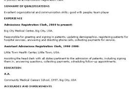 No Work Experience Resume Sample by Resume Examples Students