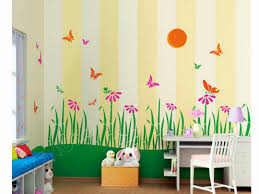 kids design room paint wall ideas decoration painting asian paints