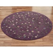 Grandin Road Outdoor Rugs Lavender Reign Round Rugs