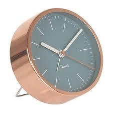 desk clock karlsson alarm clock minimal blue alarm clocks minimal and clocks