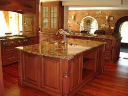 kitchen island top granite countertop funky painted kitchen cabinets caulking
