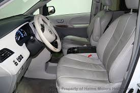 Toyota Sienna Captains Chairs 2012 Used Toyota Sienna 5dr 7 Passenger Van V6 Xle Aas Fwd At