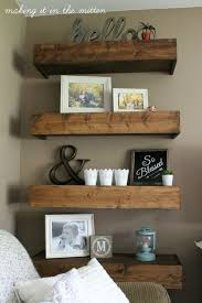 Wooden Shelves Pics by Top 25 Best Diy Wood Shelves Ideas On Pinterest Reclaimed Wood