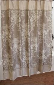 White Shower Curtains Fabric Bathrooms Fabulous Fabric Bathroom Shower Curtains White And