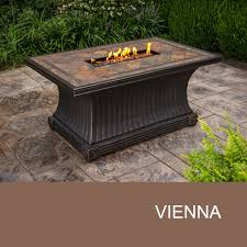 Rectangle Fire Pit - fire pits u0026 fire tables lp gas sears