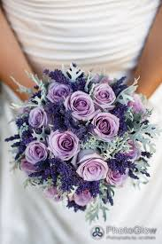wedding flowers lavender purple roses lavender and dusty miller bridal bouquet wedding