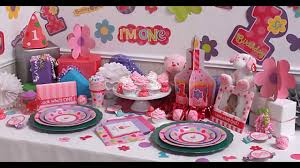 How To Make Birthday Decorations At Home Girls 1st Birthday Party Themes Decorations At Home Ideas Youtube