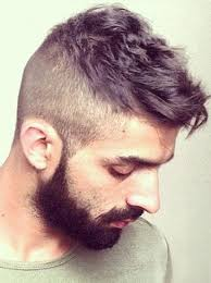 long hair sweeped side fringe shaved men hairstyle with shaved sides hairstyles for men pinterest