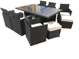brayden studio dutil tuckaway 11 piece dining set with cushions dutil tuckaway 11 piece dining set with cushions