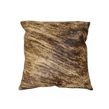 18 square torino cowhide pillow patterned 18