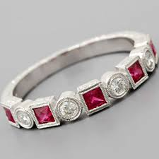 ruby band fay cullen archives wedding bands diamond wedding band ruby