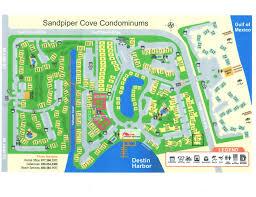 destin map luxurious 3br condo sandpiper cove resort vrbo