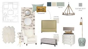present a design board your interior design client