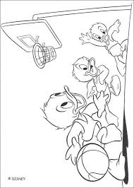 donald duck daisy duck playing tennis coloring pages
