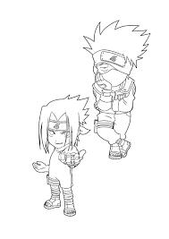 sasuke coloring pages sasuke fighting of naruto coloring pages