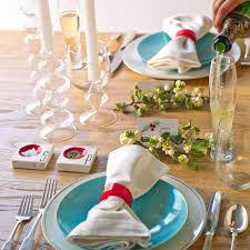 christmas table decoration ideas sunset