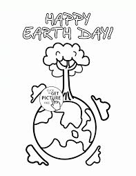 day of the earth coloring page for kids coloring pages printables
