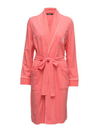 robe de chambre ralph ralph shortsleeve robe nuisette white femme