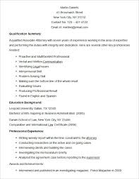 Associate Attorney Resume Sample by Resume Templates U2013 127 Free Samples Examples U0026 Format Download