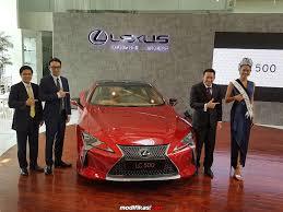 lexus lc 500 harga lexus lc 500 teranyar tampil elegan dan gahar