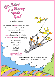 oh baby the places you ll go dr seuss inspired baby shower invitation oh the places you with