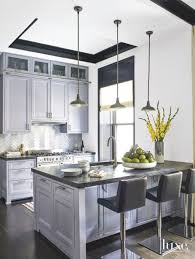 light gray kitchen cabinets with marble countertops 16 kitchens with marble countertops that wow luxe