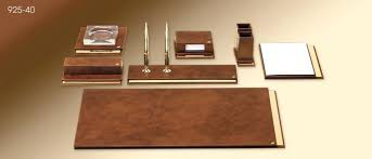 Leather Desk Accessories Uk Luxury Desk Accessories Leather Uk Interque Co