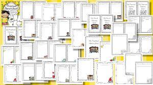 preschool memory book