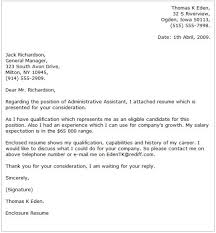 assistant cover letter examples best photos of executive