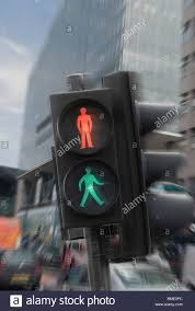 stop and go light traffic lights with stop and go lights showing confusion stock photo
