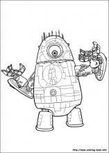 monsters aliens coloring pages coloring book