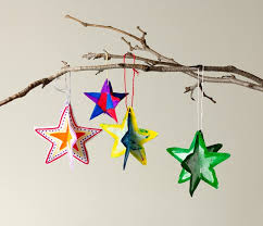 3 d paper shape ornaments craft crayola