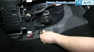 how to install replace heater ac blower fan motor gmc terrain