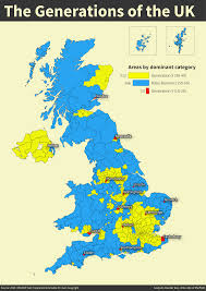 Map Of Manchester England by The Generations Of The Uk Huffpost Uk
