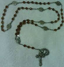 rosaries for sale large white men s sacred heart rosary 25 00 onselz