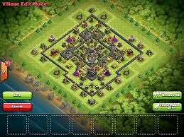clash of clans archer queen need a th 9 hybrid base design not war and no archer queen