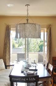 diy dining room light creating a life junk style diy garden fencing shade