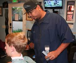 local barbershop offers camaraderie and haircuts in a hip atmosphere