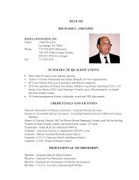 fire chief resume examples marine resume examples marine