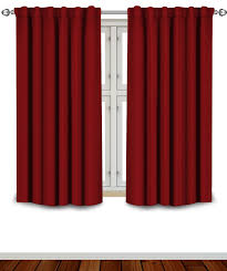 Amazon Thermal Drapes Amazon Com Blackout Room Darkening Curtains Window Panel Drapes